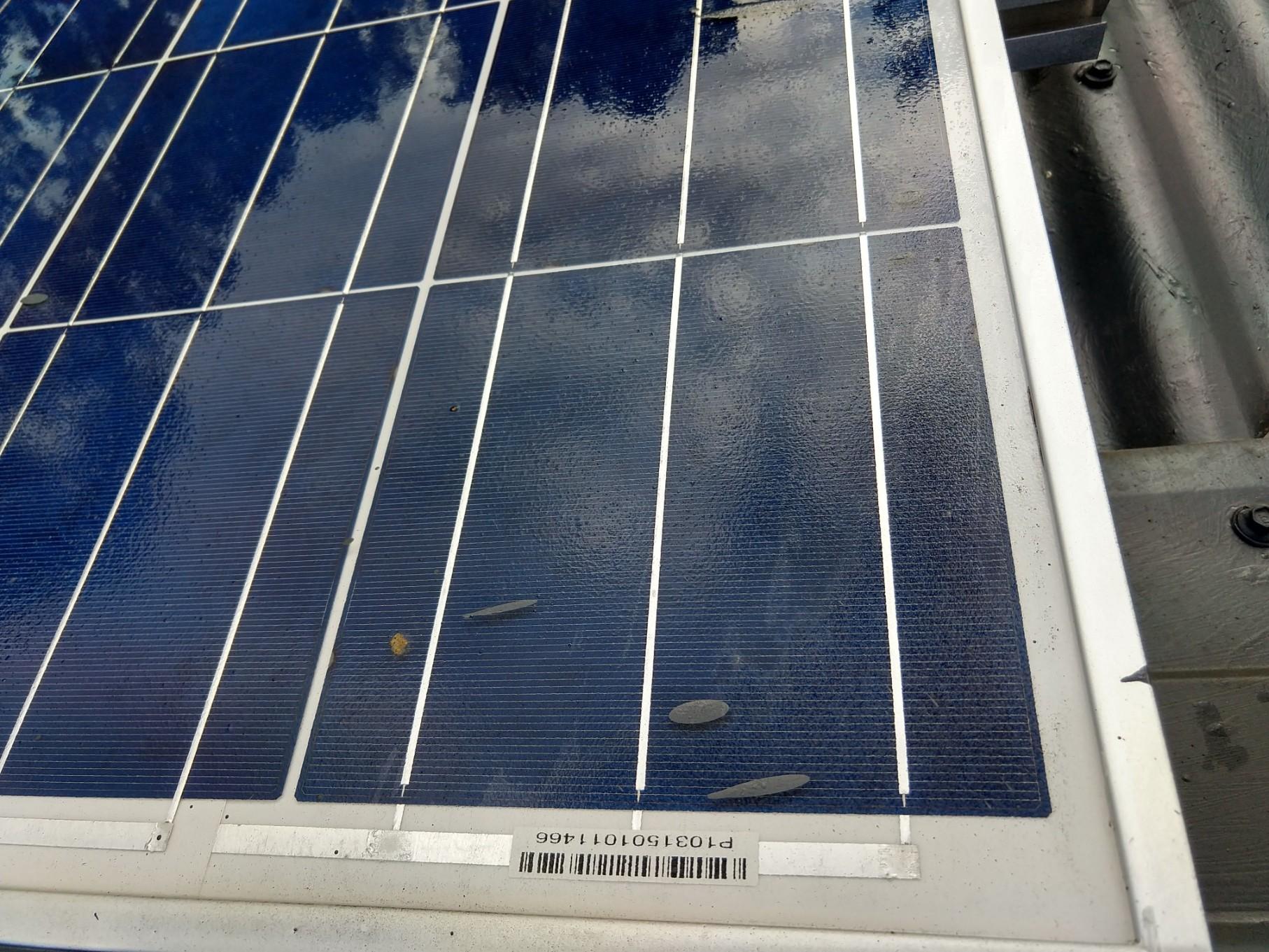 Paint on Solar Panel 2