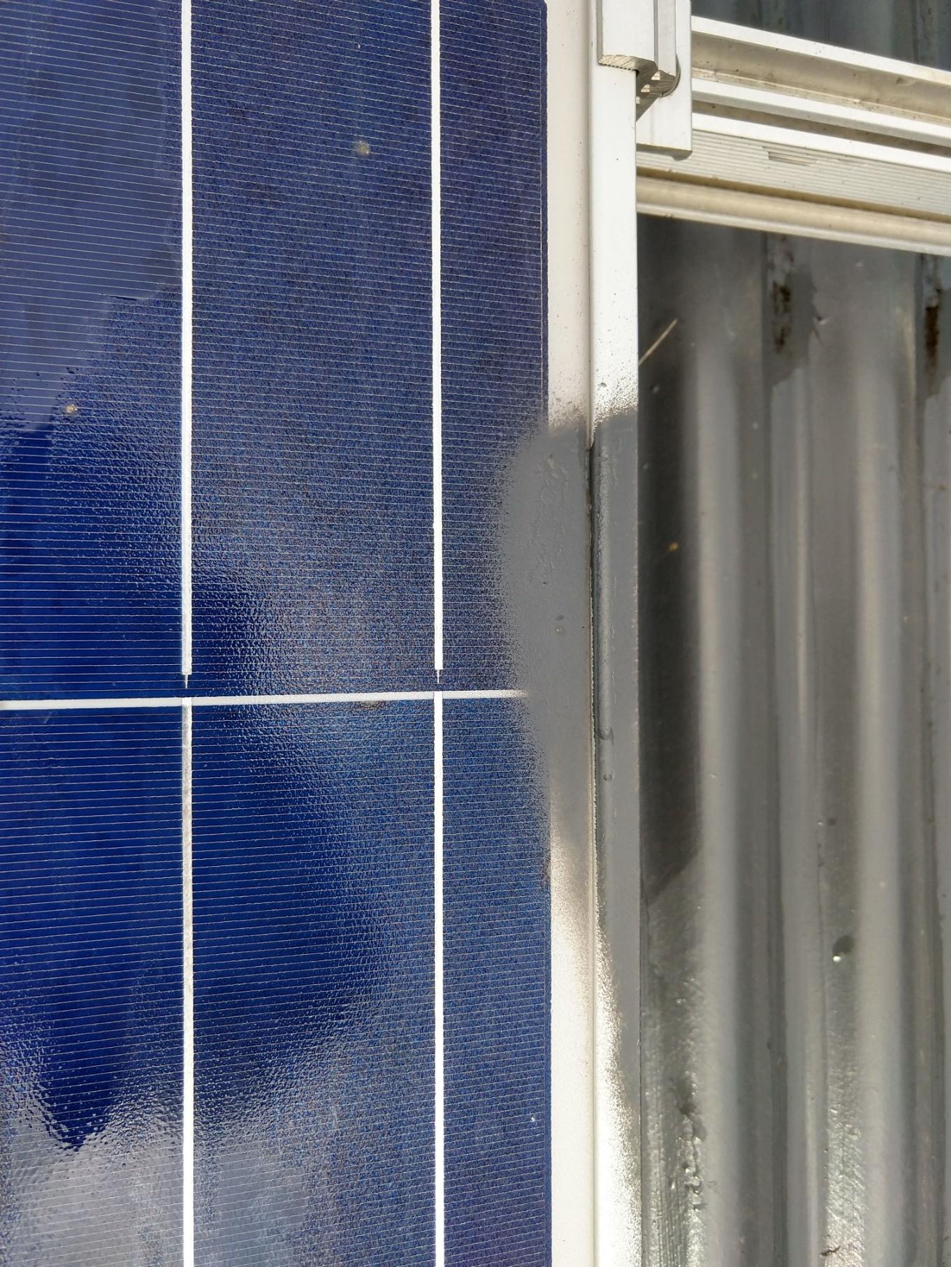 Paint on Solar Panel