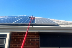 Dusty Solar Panel