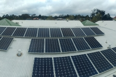 Solar Panel Cleaning panoramic